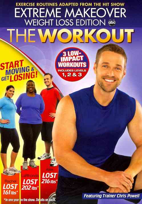 EXTREME MAKEOVER WEIGHT LOSS EDITION BY POWELL,CHRIS (DVD)
